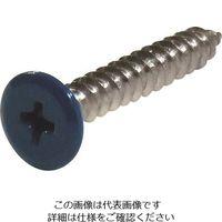 ダイドーハント ネジカラー ステンレス低頭タッピング 3x12青(8本) 10179141 146-6458(直送品)