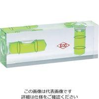 アカツキ製作所(Akatsuki MFG) KOD 平型アイベル水平器 PW-25-100 1個 851-1435(直送品)