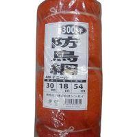 シンセイ 防鳥網(オレンジ)400D/27×36m/300坪用 4573459623343-2 2個(直送品)
