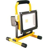 ネクセル LED充電式投光器 マグネット付 GD-F026-3Y(20W) 1台(直送品)