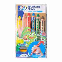 ステッドラー ノリス ジュニア色鉛筆 6色セット 140 C6 1個(直送品)