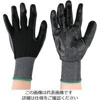 丸和ケミカル 黒フィット ニトリルコーティング手袋 10双組 775-10 1組(10双) 825-9344(直送品)