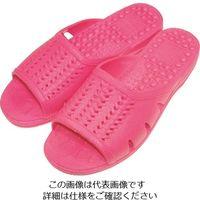 ニッポンスリッパ 成型サンダル ピンク L 400872 1セット(20足) 868-7655(直送品)