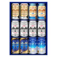 中元ギフト(簡易熨斗) ビール飲み比べ アサヒビール5種アソートセット 1箱(12本)