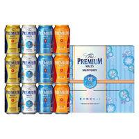 中元ギフト(簡易熨斗) ビール飲み比べ ザ・プレミアム・モルツ(プレモル) 「輝」夏の限定4種セット 1箱(12本)