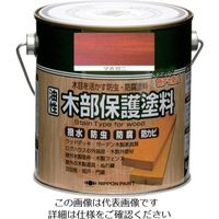 ニッペホームプロダクツ ニッぺ 油性木部保護塗料 0.7L マホガニ HYM005- 0.7 1缶 851-2578(直送品)