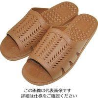ニッポンスリッパ 成型サンダル紳士 ブラウン M 400878 1セット(20足) 868-7652(直送品)