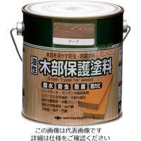 ニッペホームプロダクツ ニッぺ 油性木部保護塗料 0.7L チーク HYM006- 0.7 1缶 851-2579(直送品)