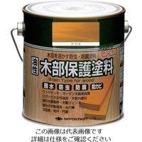 ニッペホームプロダクツ ニッぺ 油性木部保護塗料 0.7L ケヤキ HYM002- 0.7 1缶 851-2577(直送品)