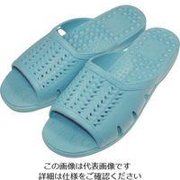 ニッポンスリッパ 成型サンダル ブルー L 400874 1セット(20足) 868-7657(直送品)