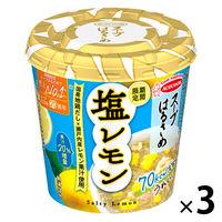 期間限定 スープはるさめ 塩レモン 国産地鶏だし×瀬戸内産レモン果汁使用 28g 1セット(3個) エースコック