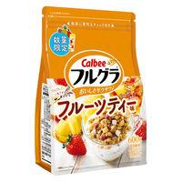 カルビー フルグラ フルーツティー味 600g 1袋 シリアル グラノーラ