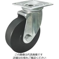 ヨドノ 導電MCナイロン車輪(ベアリング入)自在金具付 EMC-J150CD 1個 857-3165(直送品)