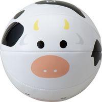 ミカサ 【景井ひなコラボ】レジャーボール(うし)AC-BB1.5B-W-MSKH1 3個(直送品)