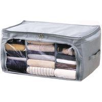 アルファックス 竹炭収納ケース 衣類用 4個組 a24814 1セット(4個組)(直送品)