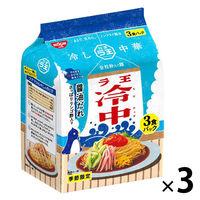 袋麺 季節限定 日清ラ王 冷し中華 醤油だれ 3食パック 1セット(3個) 日清食品