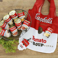 キャンベル お買得スープセット(コーンポタージュ3缶+クラムチャウダー3缶+ミネストローネ3缶)+オリジナルエコバッグ付