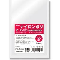 HEIKO ナイロンポリ K16-23 006679842 1セット(100枚入×24袋 合計2400枚)(直送品)