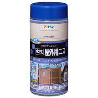アサヒペン 水性屋外用ニス 300ML ツヤあり透明 AP9018906 1本(直送品)