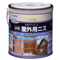 アサヒペン 水性屋外用ニス 0.7L ツヤあり透明 AP9018908 1缶(直送品)