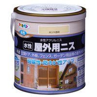 アサヒペン 水性屋外用ニス 0.7L 半ツヤ透明 AP9018909 1缶(直送品)