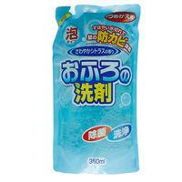 ロケット石鹸 おふろ洗剤防カビ 詰替用 4903367091901 350ML×20点(直送品)