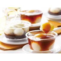 とかち製菓 北海道「シロマルカフェ」白玉【和】スイーツ6個セット SMC33 1箱(6個入り)(直送品)