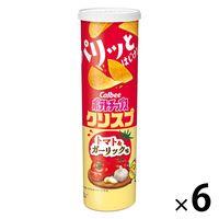ポテトチップスクリスプ トマト&ガーリック味 115g 6個 カルビー ポテトチップス スナック菓子