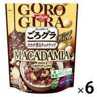 ごろっとグラノーラ リッチ カカオ香るチョコナッツ マカダミアmix 300g 6個 日清シスコ グラノーラ
