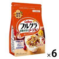 フルグラ 4種の実りメープル味 600g 6袋 カルビー グラノーラ