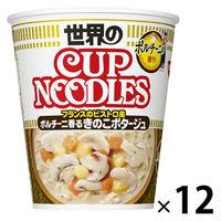 カップ麺 カップヌードル ポルチーニ香るきのこポタージュ 79g 1セット(12個) 日清食品