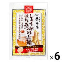 しょうがはちみつのど飴 70g 6袋 榮太樓 のど飴 キャンディ