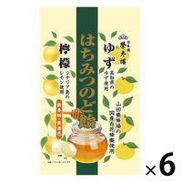 はちみつのど飴 ゆず・檸檬 70g 6袋 榮太樓 のど飴 キャンディ
