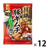 キッコーマン 具鍋 豚キムチ鍋つゆ 1セット(12個)