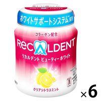 リカルデント ビューティーホワイト クリアシトラスミントボトルR 6個 モンデリーズ・ジャパン ガム