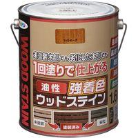 アサヒペン 油性強着色ウッドステイン 1.6L ライトオーク 9018812 1缶(直送品)
