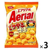 ヤマザキビスケット エアリアルてりやきマヨ味 3袋 スナック菓子