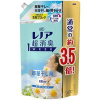 レノア 超消臭1WEEK 部屋干し 花とおひさまの香り 詰め替え 1390ml 1個 柔軟剤 P&G