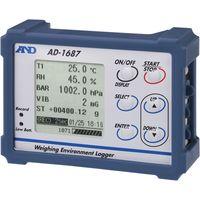 環境ロガー AD-1687≪温度・湿度・気圧・振動≫ 1台 エー・アンド・デイ(直送品)