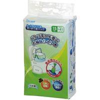 幸和製作所 ポータブルトイレ用使い捨て紙バッグ15枚入1パック EXC-04 1個(直送品)