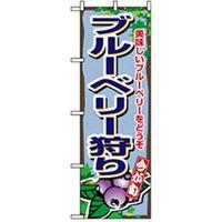 【サインシティ】 果物のぼり ブルーベリー狩り 042594 1枚(直送品)