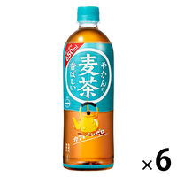 コカ・コーラ やかんの麦茶from一(はじめ) 650ml 1セット(6本)