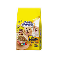 愛犬元気 犬用 7歳以上用 ビーフ・緑黄色野菜・小魚入り 2.3kg(小分けパック4袋入) 1袋 ユニ・チャーム