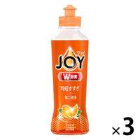 ジョイコンパクト JOY バレンシアオレンジの香り 本体 190ml 1セット(3個入) 食器用洗剤 P&G