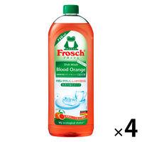 フロッシュ ブラッドオレンジ 詰め替え 750ml 1セット(4個入) 食器用洗剤 旭化成ホームプロダクツ
