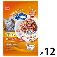 箱売り コンボ キャットフード 鮭チップ 猫下部尿路 国産 700g(140g×5袋)12袋