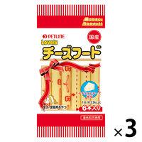 チーズフード プレーン 国産 10g×6本 3袋 ペットライン 旧日清ペットフード ドッグフード キャットフード おやつ
