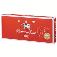 カウブランド 赤箱 ローズ調 100g 1パック(6個入) 牛乳石鹸共進社