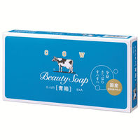 カウブランド 青箱 ジャスミン調 85g 1パック(3個入) 牛乳石鹸共進社