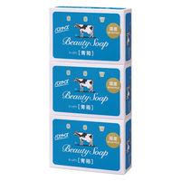 カウブランド 青箱 バスサイズ ジャスミン調 130g 3個入 牛乳石鹸共進社